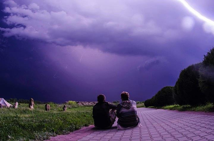 Буря на Каменной Могиле