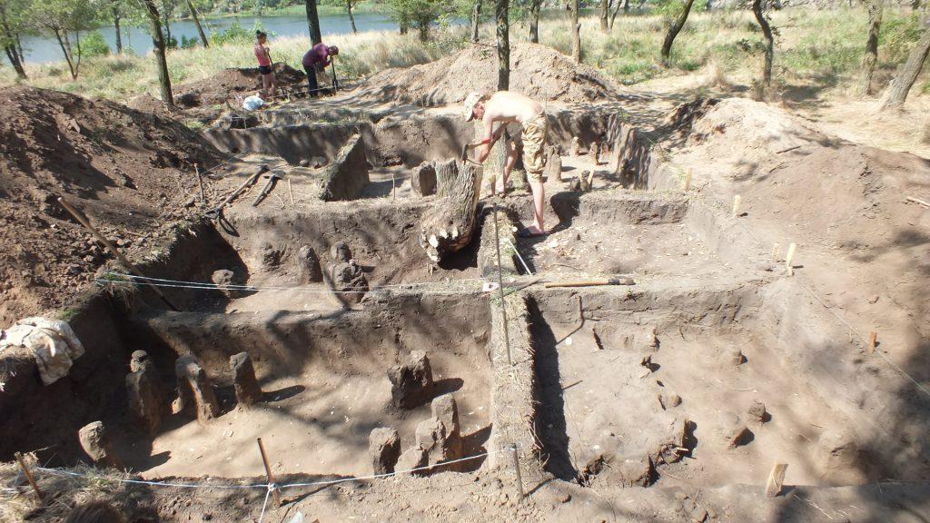 Раскопы 11 и 14