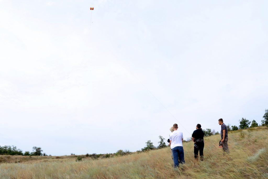 Аэрофотосъемка перед началом раскопок